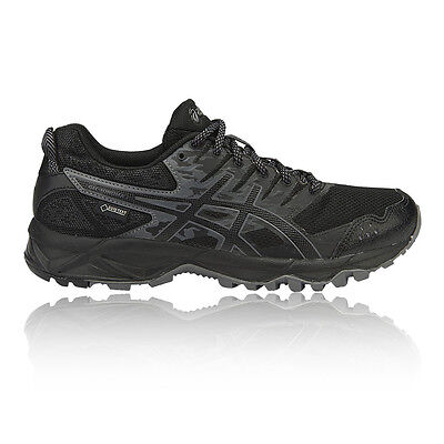 Asics Gel Sonoma 3 Womens Black Trail Running Sports Shoes Trainers Pumps