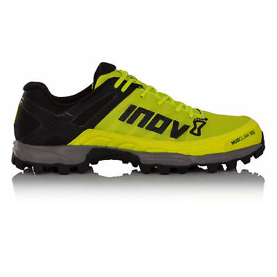 Inov8 Mudclaw 300 Unisex Yellow Black Trail Running Sports Shoes Trainers Pumps