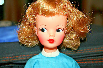 Vintage Ideal Tammy Doll Blonde Hair -High Color- Beautiful !!! Very good cond!