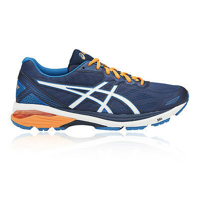 Asics GT 1000 5 Mens Blue Support Running Road Sports Shoes Trainers Pumps