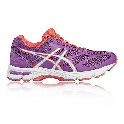 Asics Gel Pulse 8 GS Junior Girls Purple Cushioned Running Shoes Trainers