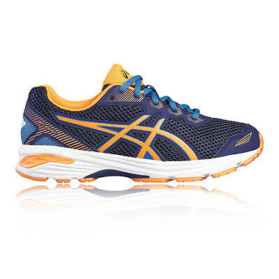 Asics GT 1000 5 GS Junior Boys Blue Support Running Road Sports Shoes Trainers