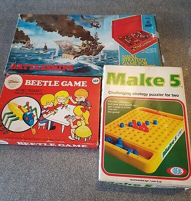 vintage board games bundle