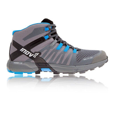 Inov8 Roclite 325 Mens Grey Blue Running Road Sports Shoes Trainers Pumps