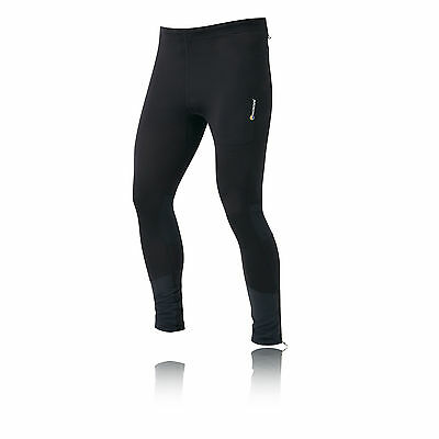 Montane Trail Series Long Mens Black Breathable Running Tights Bottoms Pants