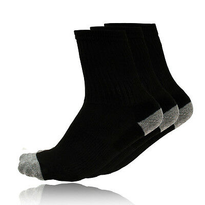 Sofsole Kids Junior Black Running Training Sports Socks 2.5-6.5