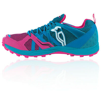Kookaburra Illusion Womens Pink Blue Hockey Court Sports Shoes Trainers