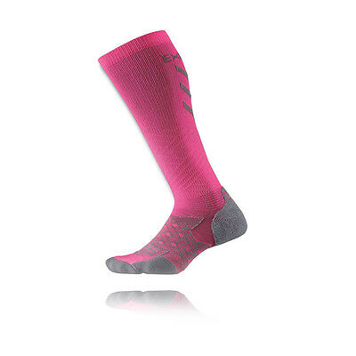 Thorlo Experia Energy Ultra Light Womens Pink Over The Calf Compression Socks