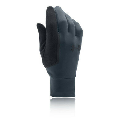 Under Armour Core Mens Grey Winter Warm Outdoors Running Athletic Gloves