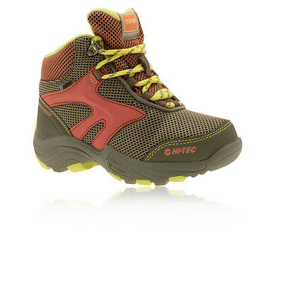 Hi-Tec Flash Fast Hike WP Junior Water Resistant Outdoors Hiking Boots