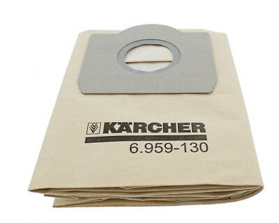 Genuine Karcher 6.959-130.0:  Vacuum Cleaner Bags - WD3/WD4/WD5/WD6