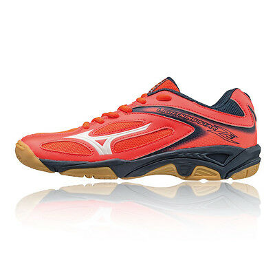 Mizuno Lightning Star Z3 Junior Pink Squash Indoor Court Sports Shoes Trainers