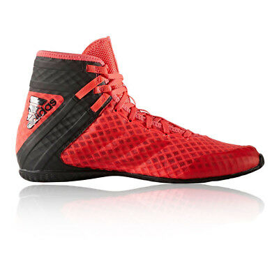 Adidas Speedex 16.1 Mens Red Black Boxing Sports Shoes Training Trainers