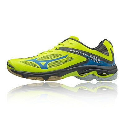 Mizuno Wave Lightning Z3 Mens Yellow Squash Indoor Court Sports Shoes Trainers