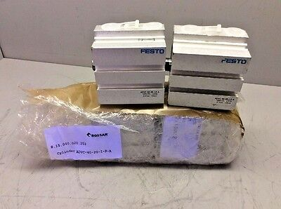 Lot of 4 New Festo ADVC-40-20-I-P-A