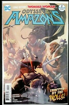 ODYSSEY of the AMAZONS #2 (of 6) Wonder Woman (2017 DC Comics) ~ NM Comic Book