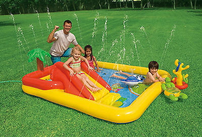 Intex Inflatable Ocean Pool Child Toddler Kiddie Wadding Play Swimming Pool
