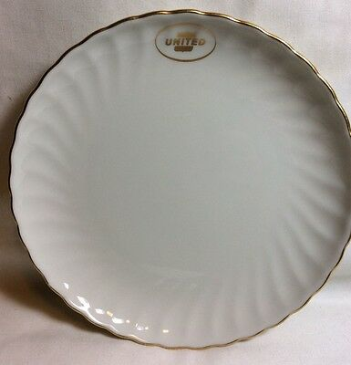 UNITED AIR LINES 1960s China Salad Plate