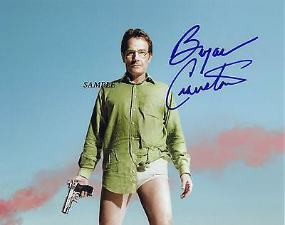 Bryan Cranston #1 Reprint Autographed Signed 8X10 Picture Photo Breaking Bad Rp