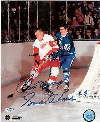 Gordie Howe #1 Reprint Autographed Signed Picture Photo Detroit Red Wings Rp