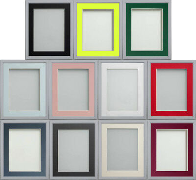 Grey Drayton Range Picture Photo Frames With Choice of Mount Colours