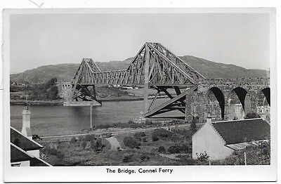 Old Real Photo Postcard, The Bridge, Connel Ferry.     149