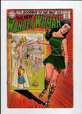 DC WONDER WOMAN #179 First Appearance of I Ching 1968 GD Vintage Comic