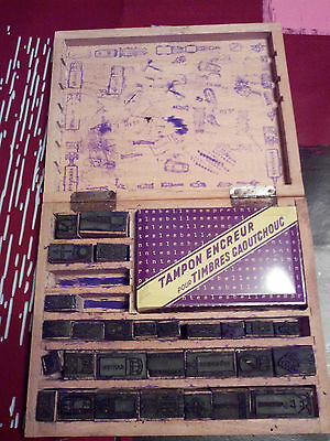 Lot Tampons Scolaires Plan Transports Securite Routiere Timbres Scrapbooking