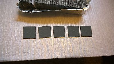 100 adhesive 1/12th dollshouse roof floor tiles