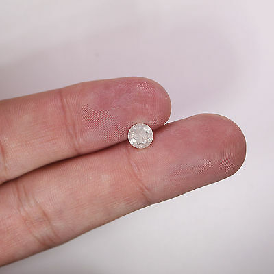 Loose Diamond 0.97 Carat Round I Color I2 Clarity Enhanced Natural For Ring