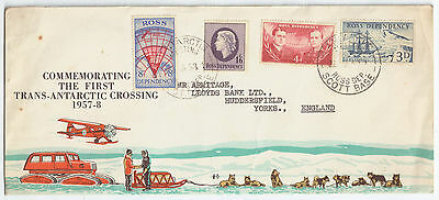 Trans-Antarctic Expedition 1957-58 Special Cover
