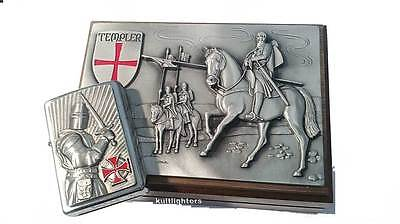 Zippo® Templer II Crusader Ritter in Relief BOX Limited Edition 2003685 New OVP