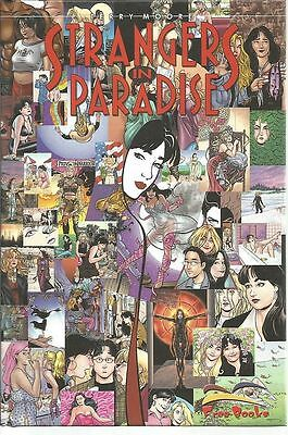 TERRY MOORE - STRANGERS in PARADISE VOLUME N.15 - fumetto d'autore