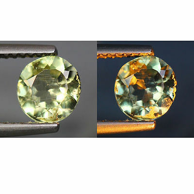 1.12 Cts_World Class Dream Gemstone_100 % Natural Color Change Diaspore_Turkey