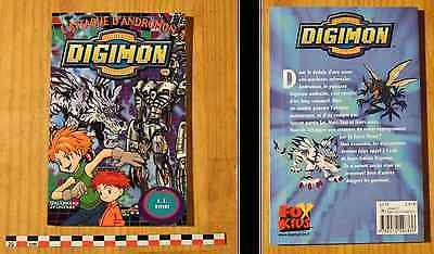 Digimon, L'attaque d'Andromon, type manga jeunesse, Gallimard Jeunesse, 2001
