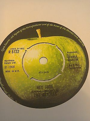 The Beatles..7 inch single...HEY JUDE...