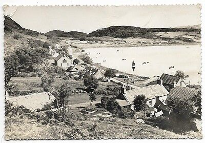 Old Real Photo Postcard, Village Of Tayvallich, Argyll.     156