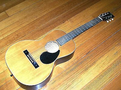 Vintage 1930s  Regal Acoustic Parlor Guitar for Repair Free Shipping USA