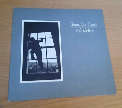"Tears For Fears Pale Shelter 12"" vinyl single 1983 IDEA 513 Curt Smith R Orzabel"