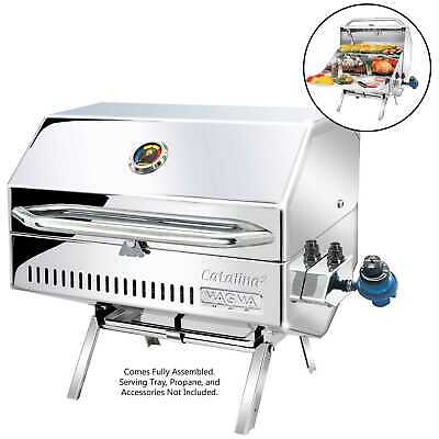 Magma A10-1218-2 Catalina 2 Propane Barbeque Gas Grill Boat RV Gourmet Marine
