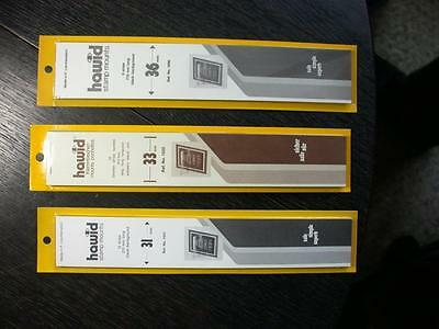 3 Packages Of Hawid   Stamp Mounts -3  - Unopened -