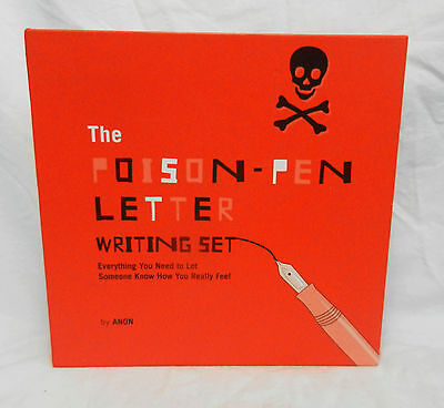 The Poison Pen Letter Writing Set - Boxed