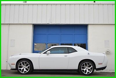 """2015 Dodge Challenger SXT Plus Hot Cold Leather 20"""" Wheels Auto Car Play Repairable Rebuildable Salvage Lot Drives Great Project Builder Fixer Easy Fix"""