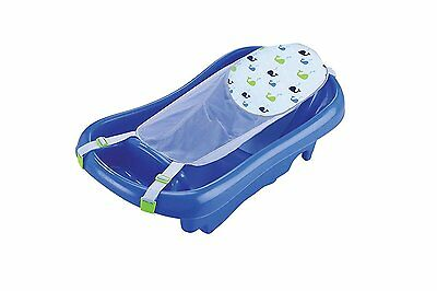 The First Years Sure Comfort Deluxe Baby, Newborn To Toddler Bath Tub, New, Blue
