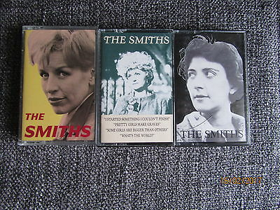 The Smiths RARE cassette singles x 3 all in MINT CONDITION