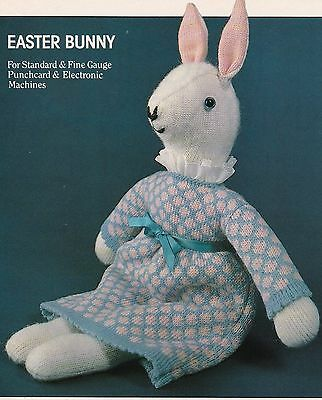 Easter Bunny - Pattern For Machine Knitting
