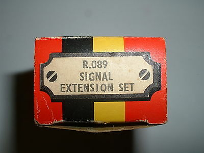 Two Hornby Signal Extension Sets R.089 (One Complete & One Incomplete)