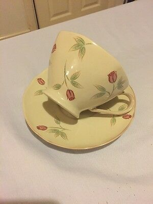 """Whittard """"Rosa"""" Cup & Saucer New"""