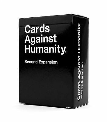 Cards Against Humanity: Original NEW Second Expansion FREE DELIVERY - Party Game