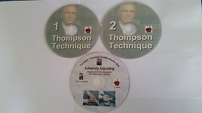 Chiropractic Thomson Technique DVDs SALE